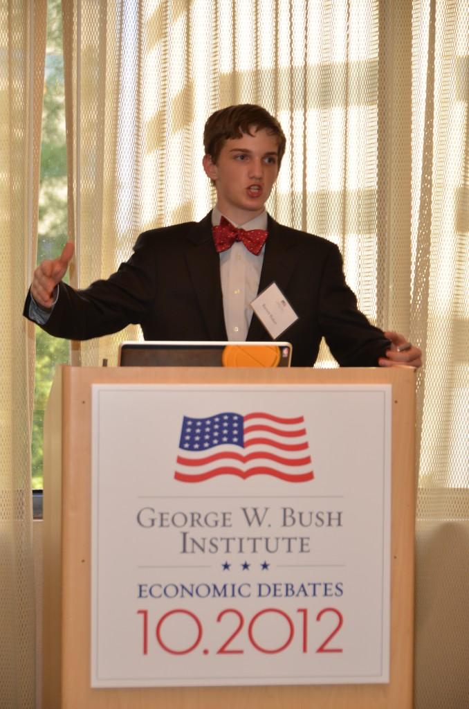bush economic essay