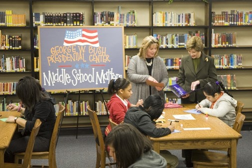 Bush Institute Selects Three Schools for Middle School Program - Blog Image
