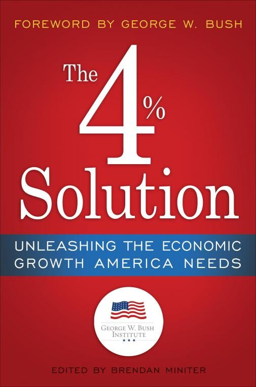 The 4% Solution: Unleashing the Economic Growth America Needs - Event Image